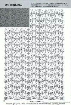Schéma ou diagramme pour crochet Modèle de points divers  •★•Teresa Restegui http://www.pinterest.com/teretegui/•★•