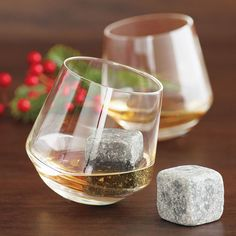 Whiskey Stones ensure your bourbon or whiskey is chilled and undiluted. A great gift for Father's Day or as a favor for those rugged folks who take their drinks neat.