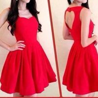 Another Heartback dress