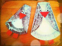 Suntanned penguins
