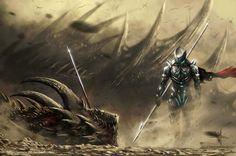 Dragon Hunter 1 by yonax.deviantart.com on @DeviantArt