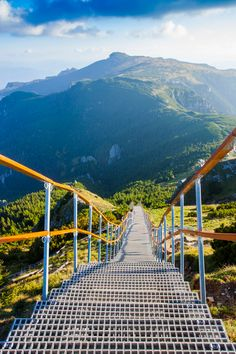 Climb the staircase to paradise in the Ceahlău Mountains Mall Of America, North America, Beach Trip, Beach Travel, Visit Romania, Royal Caribbean Cruise, London Pubs, Mountain Resort, Cover Pics