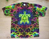 Sunset Turtle Tie Dye Size XL