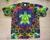 Sunset Turtle Tie Dye Size XL