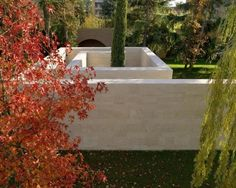 Wall of Memory by Pietro Carlo Pellegrini Architetto, 2013, monastery of S.Gemma Galgani, Lucca, Italy (Contemporist)