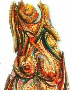 Woman.... #mosaic_menossi #mosaicodinamico #dynamicmosaic