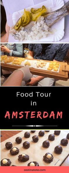 We took a Sunday morning walking Food Tour with Hungry Birds - the delicious cheese tasting and chocolate cookie were a treat. Some Dutch snacks and Indonesian food to be sampled. #amsterdam #foodtour #amsterdamfoodtour #foodwalk #dutchtreats