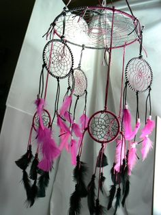 Dream Catcher Mobile by Winchestergems on Etsy, $78.00