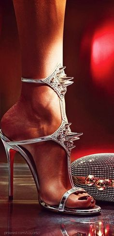 Christian Louboutin. Nice high. Perfect for party fashion #womenfashion #heels