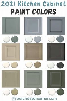 Kitchen Color Trends, Kitchen Paint Colors, Paint Colors For Home, Neutral Kitchen Colors, Best Kitchen Colors, Kitchen Door Paint, Kitchen Paint Schemes, Kitchen Cabinet Color Schemes, Popular Kitchen Colors