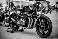 """Honda CB by MotoVeloci    """"Hand made last year with attention for all details, shaped all features by hand with iron sheet, leather s..."""