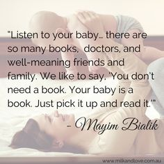 This is a beautiful quote from Mayim Bialik- actress, neuroscientist and mum of two!