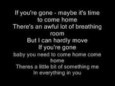If you're gone, matchbox 20 Matchbox 20 Lyrics, Matchbox Twenty, Film Music Books, Music Songs, My Music, Rob Thomas, Thomas Brodie, Best Breakup Songs, You Broke My Heart