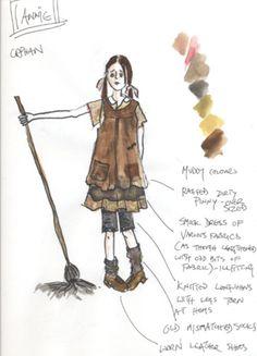 ANNIE - Orphan sketch
