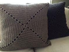 Cojines de crochet de 70 x 70 cm #crochet #DIY