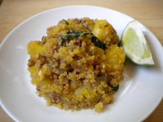 Pineapple Ginger Quinoa | Down to Earth Organic and Natural