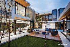 Diseño de Interiores & Arquitectura: Moderna Residencia en Johannesburgo Con Características Extravagantes.