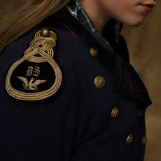 Denim & Supply Ralph Lauren Cotton Officers Jacket in Blue (Classic Navy)