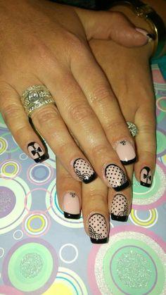 Bows and dots