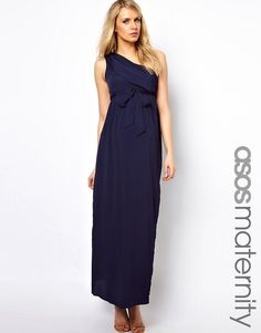 3e4704f601ddf ASOS Maternity | ASOS Maternity Exclusive Maxi Dress With One Shoulder Asos  Maternity, Maternity Tops