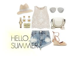 """""""Hello, Summer"""" by sunnynoh on Polyvore featuring Alice + Olivia, Joie, Dolce&Gabbana, Christian Dior, One Teaspoon, Rebecca Minkoff, Hipanema, Marc by Marc Jacobs and Inverni"""