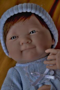 Realistické miminko - chlapeček Lukáš od firmy Berenguer