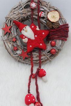 Türkranz Weihnachten von DekoPunkt. auf DaWanda.com