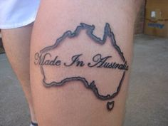 <b>If you're getting a tat, make it patriotic.</b> That's the Australian way.