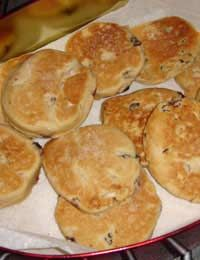 Traditional Welsh Cakes Bara Brith