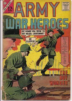 Charlton Comics War Stories ARMY WAR HEROES & So Many More @QualityComicsAmerica #QualityComicsAmerica