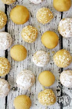 Raw Vegan Lemon Meltaway Balls...raw, vegan, gluten-free, dairy-free, egg-free, no-cook, paleo-friendly and no refined sugar | The Healthy Family and Home