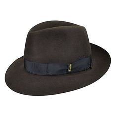 c55537e4a65 The Calvino Open Crown Fedora allows you to create a truly custom piece by  shaping the crown and brim with your own hands. The fur felt Calvino get…