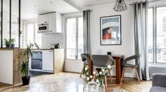 A 38m² Apartment in Paris - kardinad