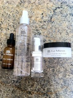 Le Mieux Skin care products available at the #JackWinnSalon. Call Amanda for a consultation! (949) 887-9702