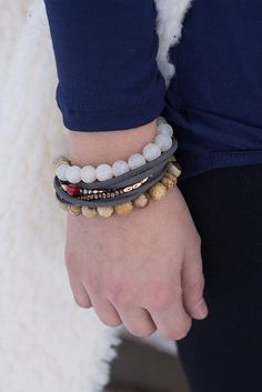 Bracelet stacks are perfect to customize to everyone's personal style! 💖 #xoxoAL4You #aotd #bracelets #stack #accessories #shoplocal #apricotlane http://form.jotform.us/form/52044697810154
