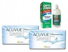 2x Acuvue Oasys™ 6 Stk. BC 8.8 + Opti-free Express 355 ml