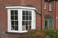 Timber Box Sash bay Windows external, by Mumford & Wood