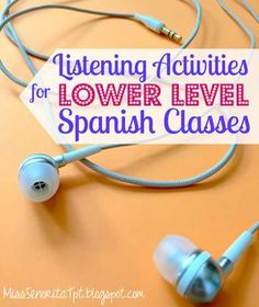 I like to include listening activities in my Spanish classes as much as I can. It can be seriously challenging to find good listening act...