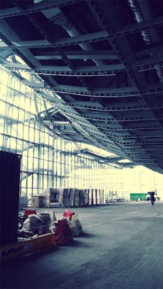 """in """"Nuvola"""" Congress Center in Rome by Fuksas Architect with HTC One"""