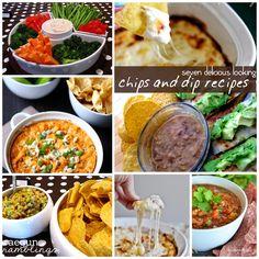 Delicious Chips and Dip Recipes - Rae Gun Ramblings
