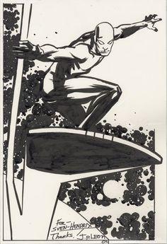 Silver Surfer by John Paul Leon *