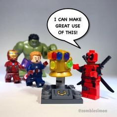 Who do you think would be more dangerous with the #InfinityGauntlet #Thanos or #Deadpool ?