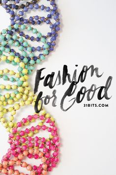 31 Bits | jewelry handmade from recycled paper