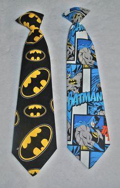 Batman Necktie / Boy's Clip on Necktie / by DesignwithElegance