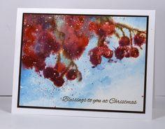 Berries in snow Heather Telford
