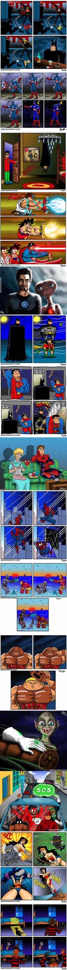 The Funniest Superhero Comics Collection (Part 3)