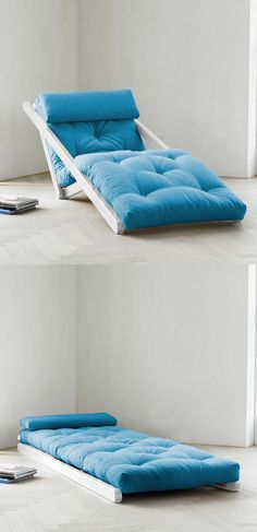 Chaise longue ~ Fresh Futon ~ great for a teen's room