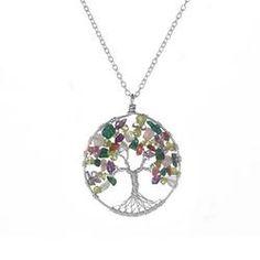 Tree of Life Necklace- Abundance  $145.00