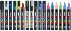 ROTULADOR UNI POSCA PC5M. Uni Poska PC5M. Rotulador de tinta permanente de secado rápido y punta cónica. Una altísima pigmentación. Unico por su colorido. Es ideal para rotulación en cualquier superficie. Disponible en varios colores.