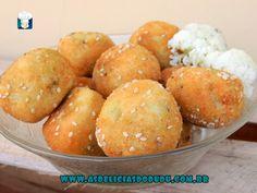 As delicias do Dudu: Bolinhos de couve flor recheado